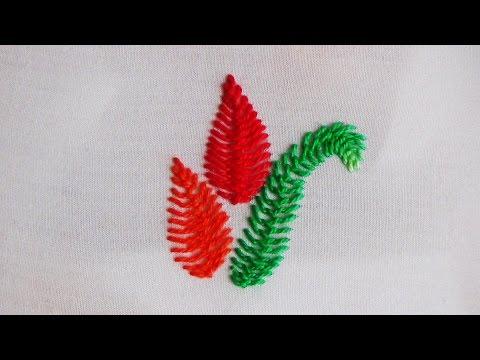 Hand Embroidery: Cretan Stitch