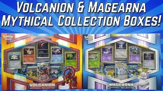 VOLCANION /& MAGEARNA Mythical Collection Boxes POKEMON TCG Cards Sealed Packs