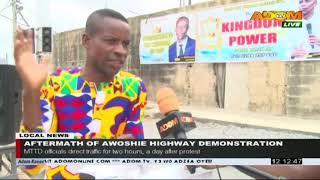 Aftermath of Awoshie Highway Demonstration - Premotobre Kasee on Adom TV (5-8-20)