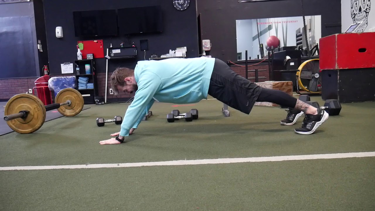 How to perform: Long lever plank