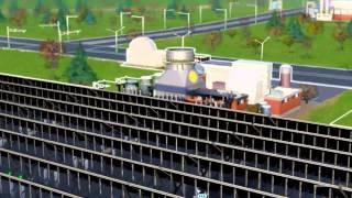 Sim City 5 (2013) Massive Solar Energy Farm Upgrade