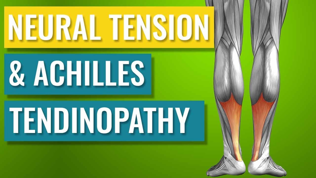 How Neural Tension can cause Achilles Tendinopathy - YouTube