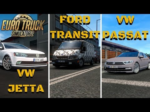 VW JETTA | Ford Transit | VW Passat B8 R LINE - ETS 2 Mods #6