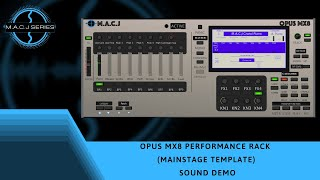 M.A.C.J OPUS MX8 Performance Rack