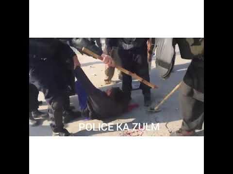 Police Ka Zulm Dharne Walo Per - Faizabad Operation By Govt
