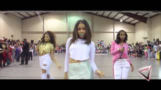 P2 WeRCharm opens up for Dancing Dolls DD4L in Holly Springs Mississippi
