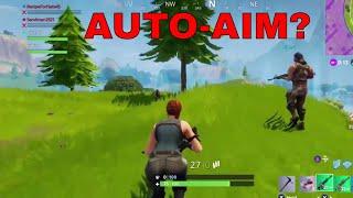 Auto-aim?!? - Fortnite Battle Royale