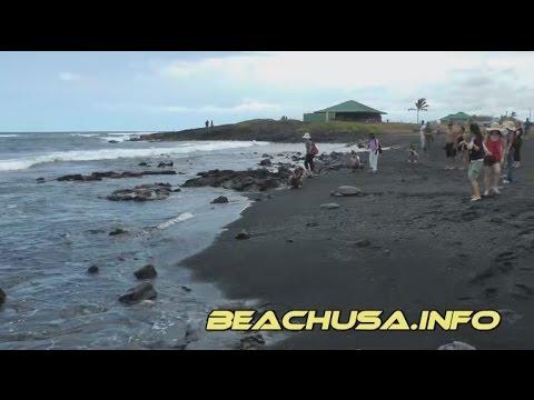 Black Sand Beach Hawaii, Punalu