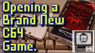 Opening a Brand New C64 Game   Nostalgia Nerd