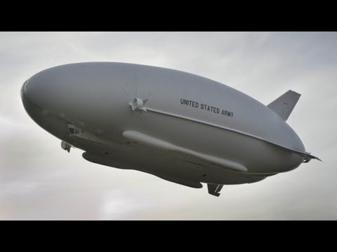 U.S. Army All Seeing Super Blimp