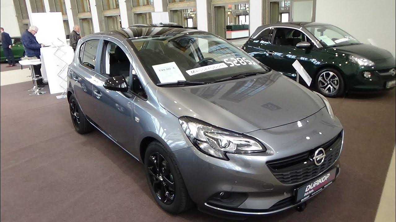 2019 Opel Corsa Color Edition Exterior And Interior Autotage Berlin 2018