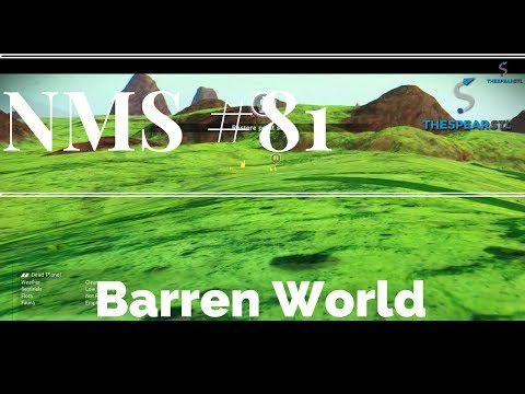 No Man's Sky #81 - Barren World