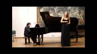 """Mezzo Soprano: Diamanti Kritsotaki, """"Ich aber weiss"""", Op.11 No.2, Hans Pfitzner"""