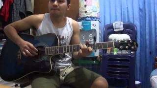 2NE1 Lonely Guitar Cover by Franky Lewowerang