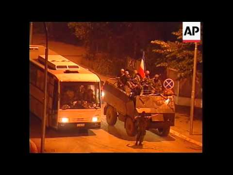 KOSOVO: PRIZREN: SERB TROOPS REPORTEDLY WITHDRAWING