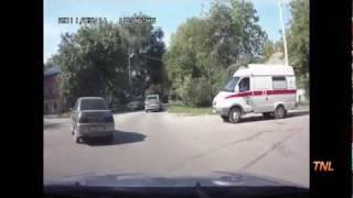 Wypadki samochodowe w Rosji cz.1