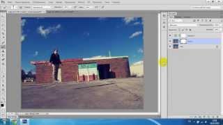 Видео Урок. Эффект Левитации В Фотошопе.(Кликни и ты научишься так же: http://bit.ly/18ulLKO On video: http://vk.com/vladkachalaba В этом видео я рассказываю как сделать эффект..., 2013-10-16T10:57:28.000Z)
