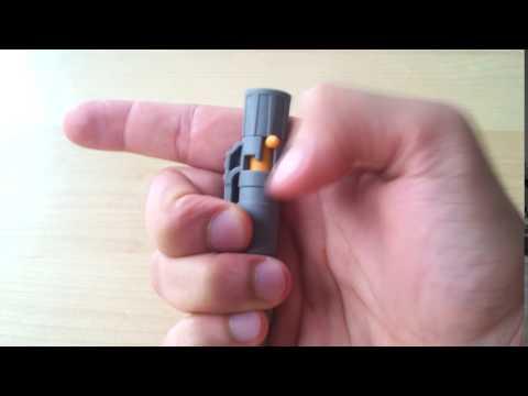 Ketalon Rohk Tough Pen - Bolt Action Mechanism