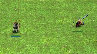 Battle Realms - Samurai (Arrow) Vs Range Units!