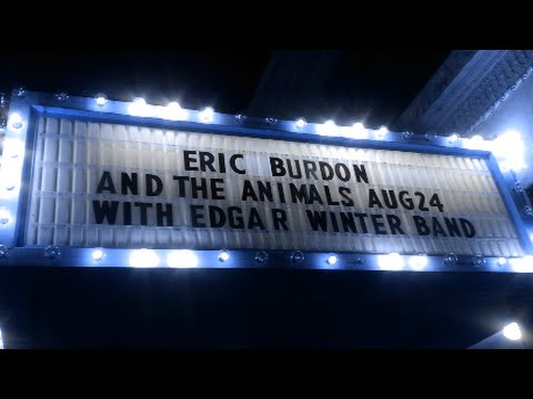 Eric Burdon & The Animals --- Live At The Palace In Lorain, Ohio --- August 24th, 2015