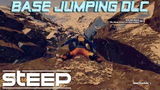 Steep Base Jumping Gameplay | Steep Extreme Pack DLC Gameplay