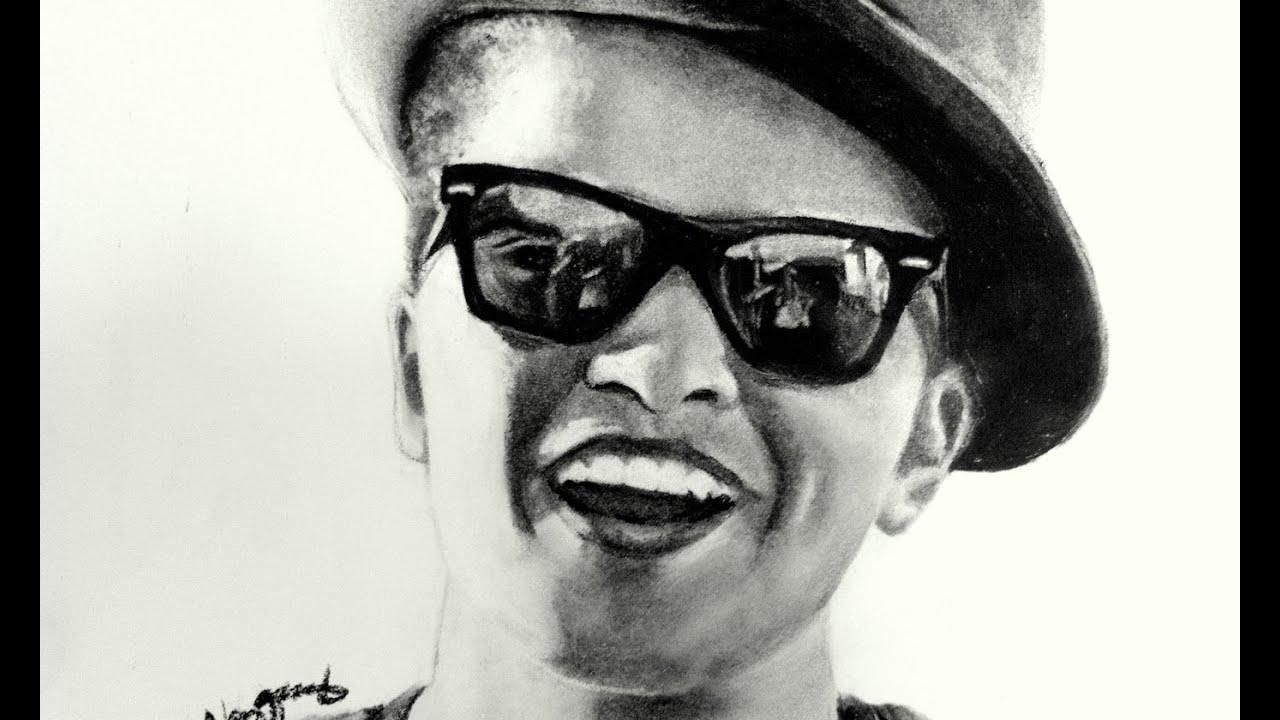 Bruno Mars Drawing - YouTube