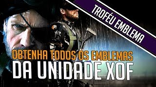 Metal Gear Solid V: Ground Zeroes - All XOF Unit Patches (Insignia Trophy / Achievement Guide)