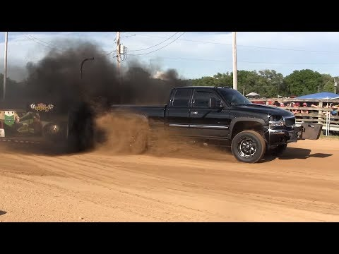 Central Illinois Truck Pullers - 2016 Cass County Fair - Virginia, IL Pull