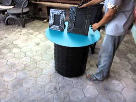 Recycled Rubber Tire Furniture Factory Youtube