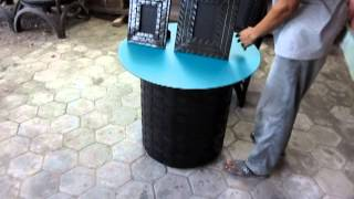 Recycled Rubber Tire Furniture Factory