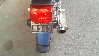 moto hippy racing honda glx 150cc takegawa 4valve