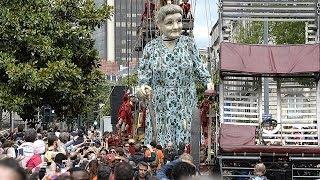 Les géants de ROYAL de LUXE étaient à Perth Australie, Liverpool...