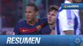 Resumen de FC Barcelona (4-0) Real Sociedad