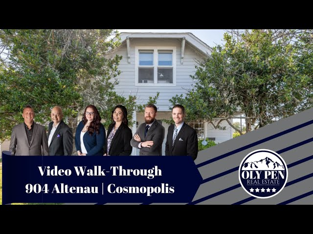 904 Altenau | Cosmopolis, WA | Video Walk-Through