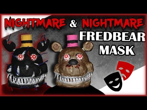 How to Make: Nightmare Masks!