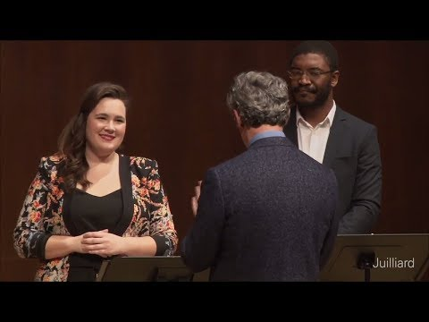 Excerpt from Verdi's 'Rigoletto' | Juilliard Fabio Luisi Vocal Arts Master Class