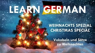 Learn German HD♫ ► WEIHNACHTS-SPEZIAL 2016 ◄ 1. Advent