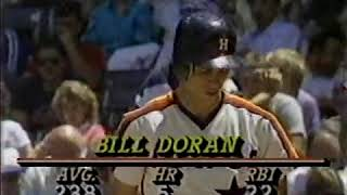 1987 06 03 Houston Astros at Chicago Cubs (Cubs win 22-7)