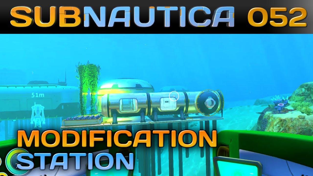 Subnautica Karte Deutsch.Subnautica 052 Fragmente Fur Die Modification Station