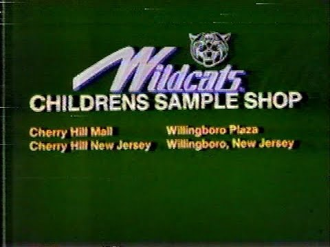 Wildcats Kids Shoes Commercial 1986