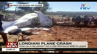 5 dead after Safari Link plane crashed in Makutano Forest