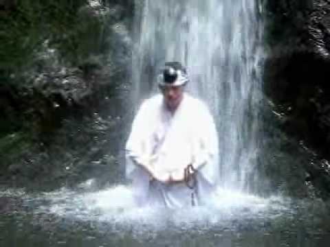 滝行気合+不動金縛之秘印 Takigyo Kiai Fudo-mudora 2009 - YouTube