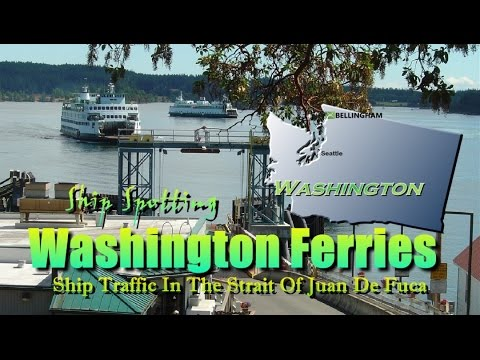 Washington Ferries vs. The FOG And Major Washington Ship Traffic In Puget Sound