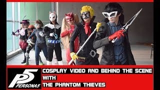 Persona 5 cosplay video and Behind The Scenes With the Phantom…