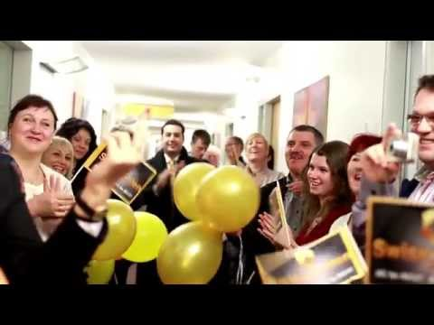 Swissgolden! Opening of an office and meeting partners. Stuttgart-2014