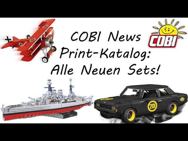 COBI News: Alle neuen Sets des Print-Katalogs