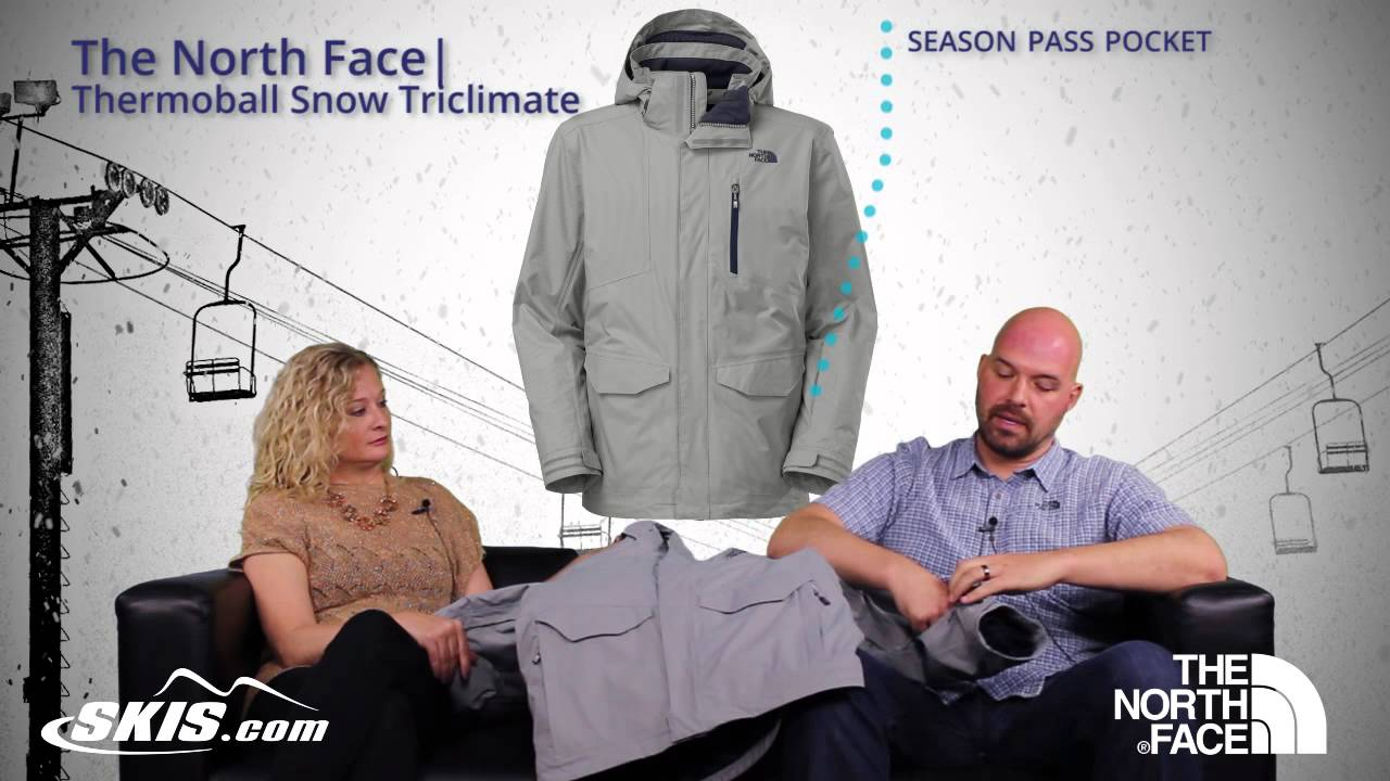 62996d2e2 2016 The North Face Thermoball Snow Triclimate Parka Mens Jacket Overview  by SkisDotCom