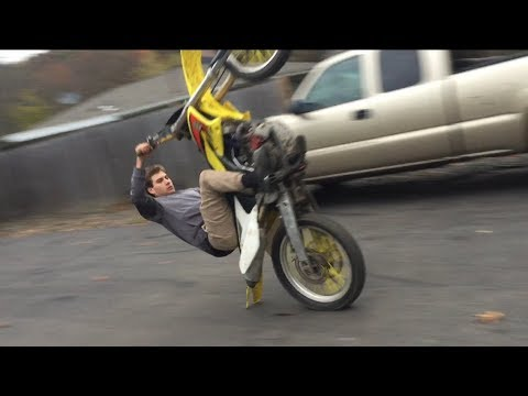 First Ever Scrapes on the Rmz250