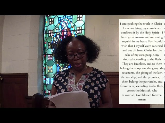 The Ninth Sunday after Pentecost 8.2.20