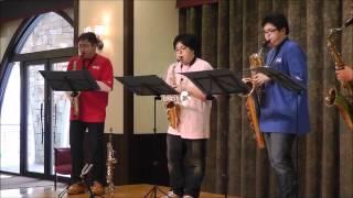 Quartet MD4 がついにデビュー!県内にある施設にて訪問演奏をしました。